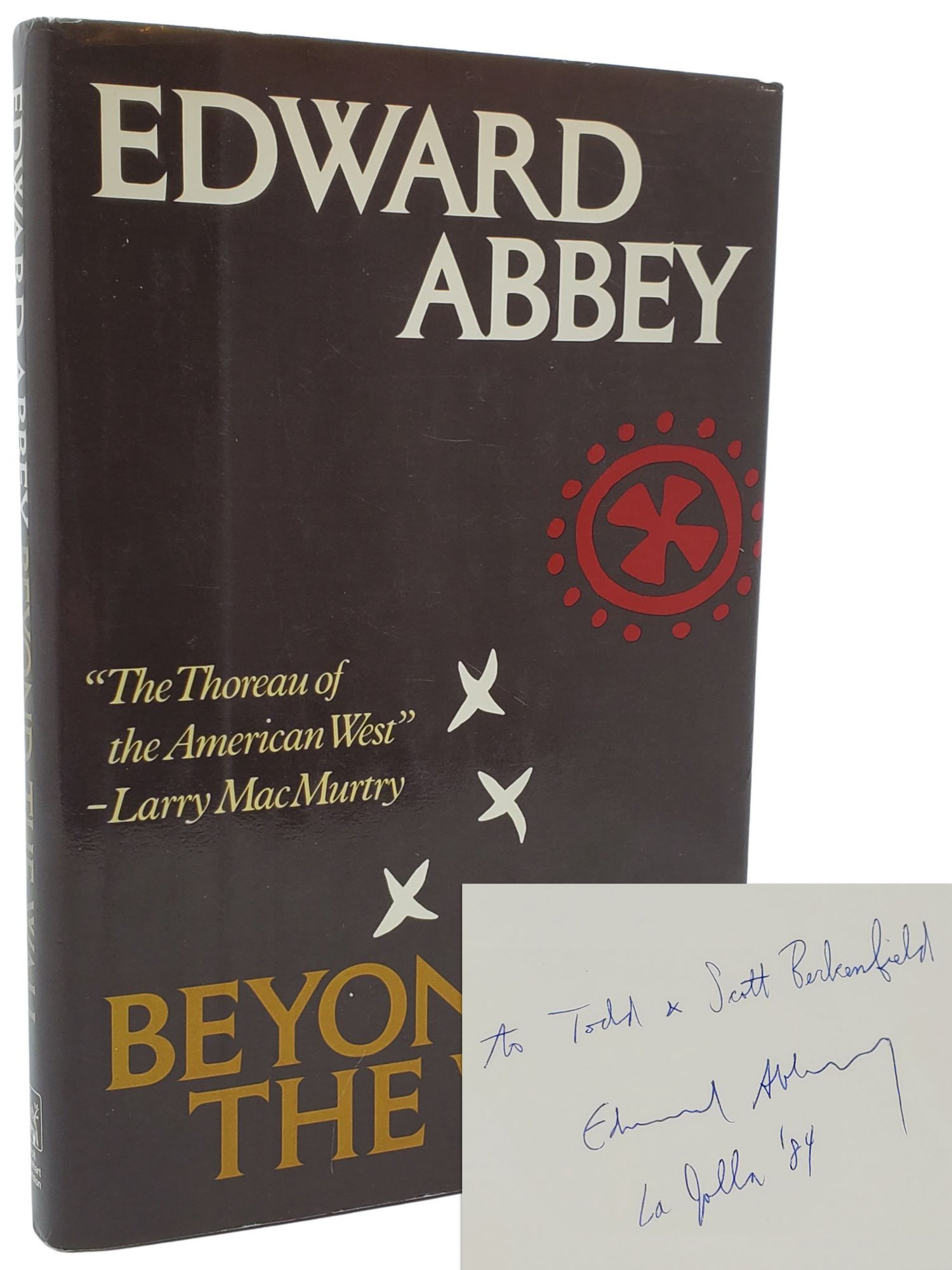 BEYOND THE WALL. Essays from the Outside. Edward Abbey.