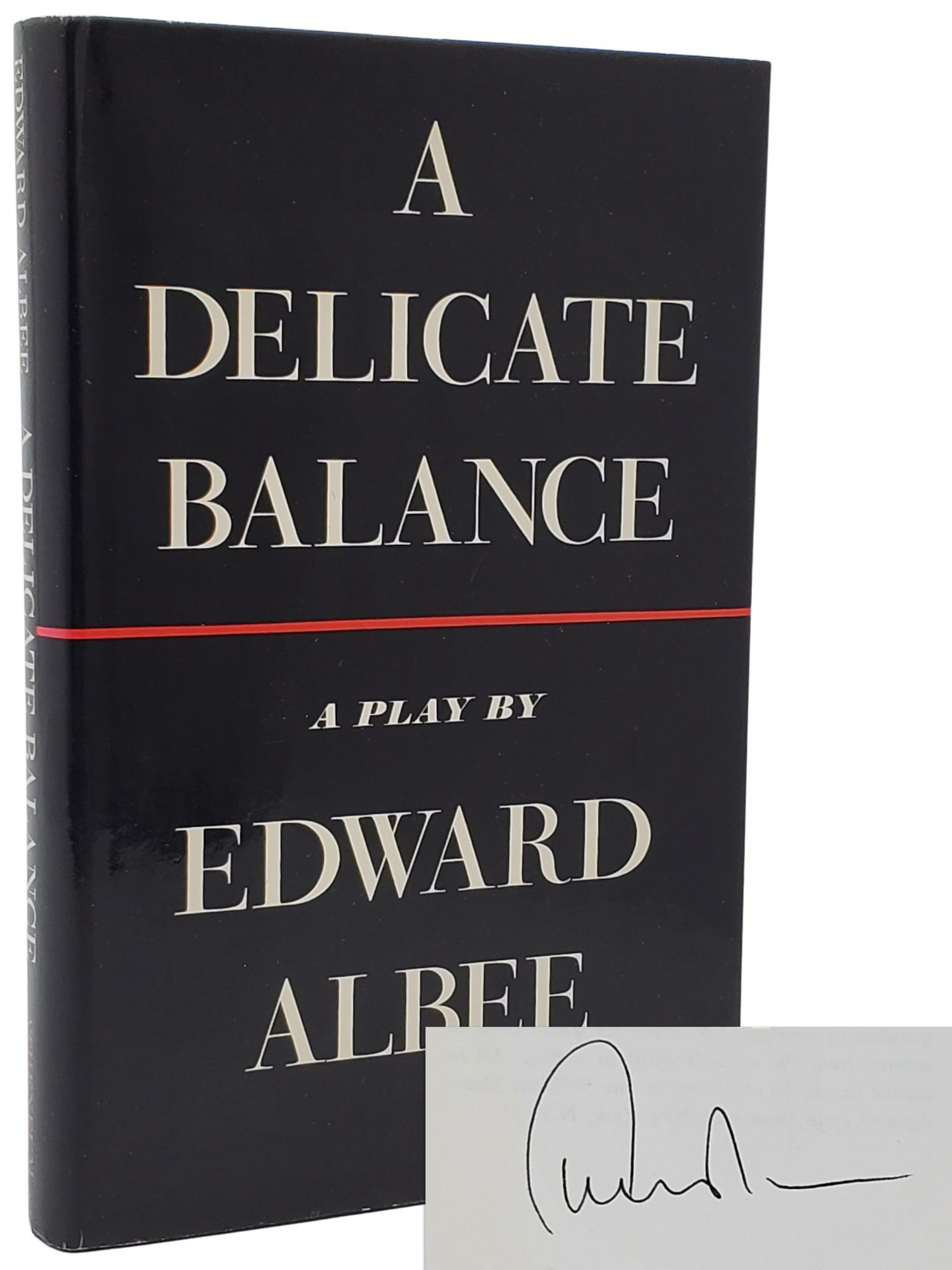 A DELICATE BALANCE [SIGNED]. Edward Albee.