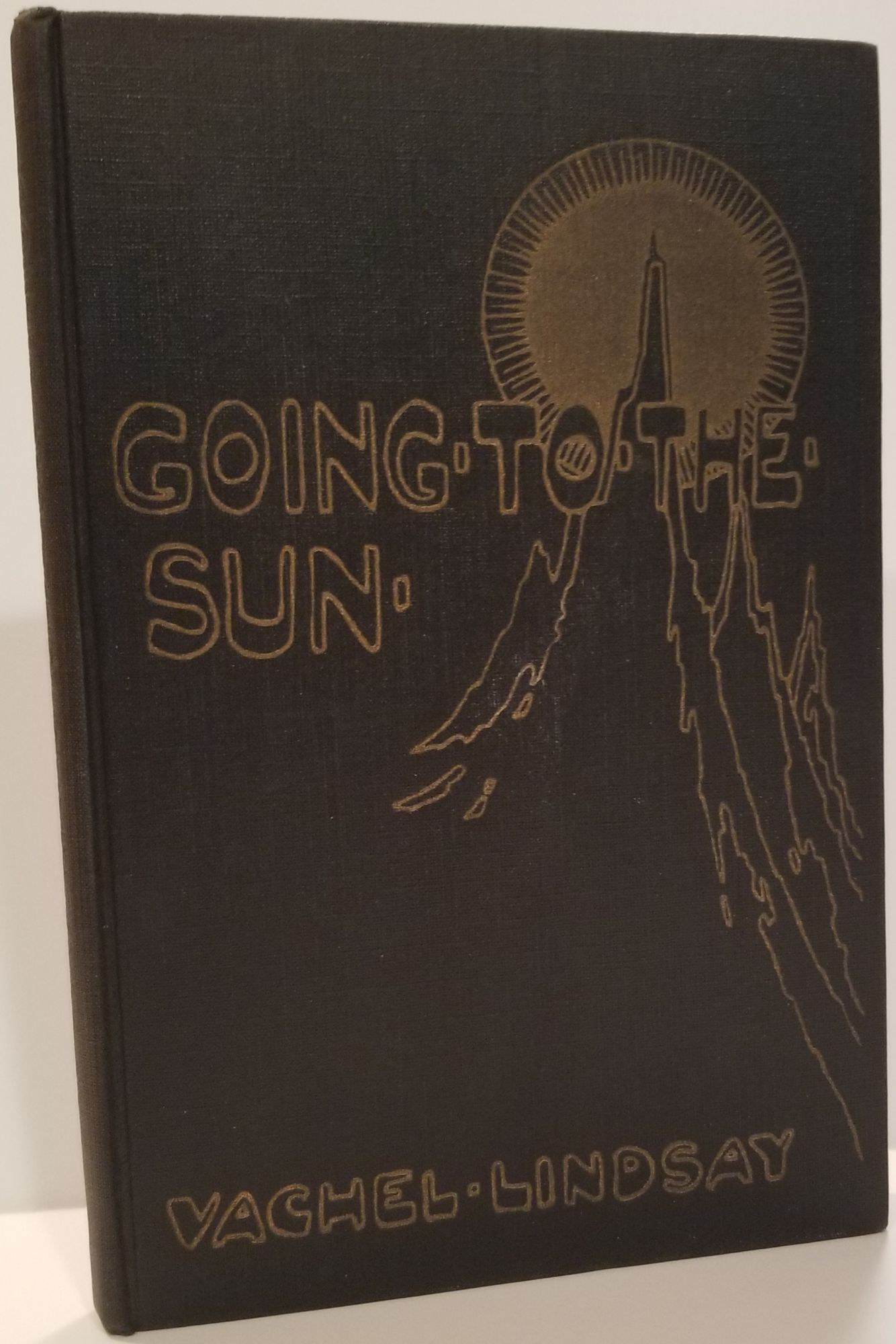 GOING-TO-THE-SUN. Vachel Lindsay.
