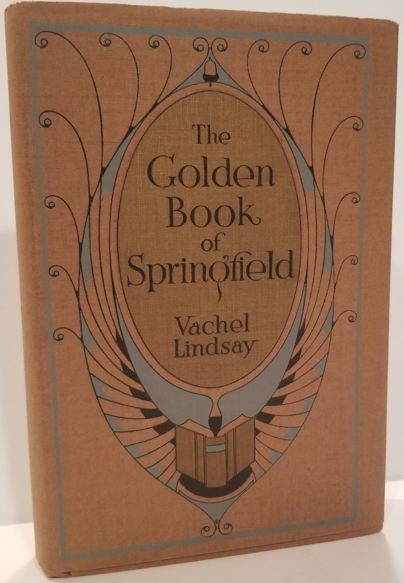 THE GOLDEN BOOK OF SPRINGFIELD. Vachel Lindsay.