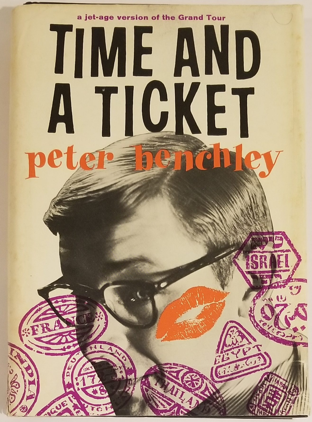 TIME AND A TICKET. Peter Benchley.