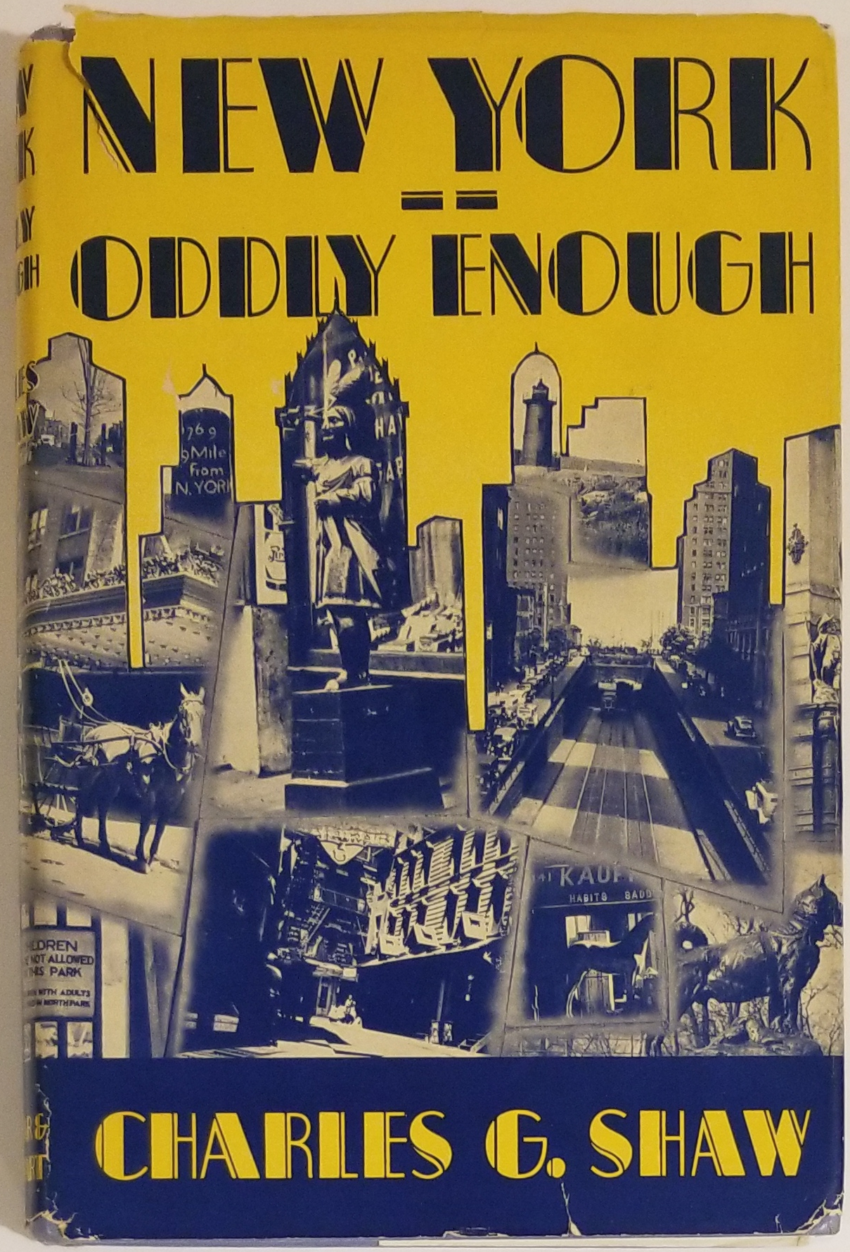 NEW YORK -- ODDLY ENOUGH. Charles G. Shaw.