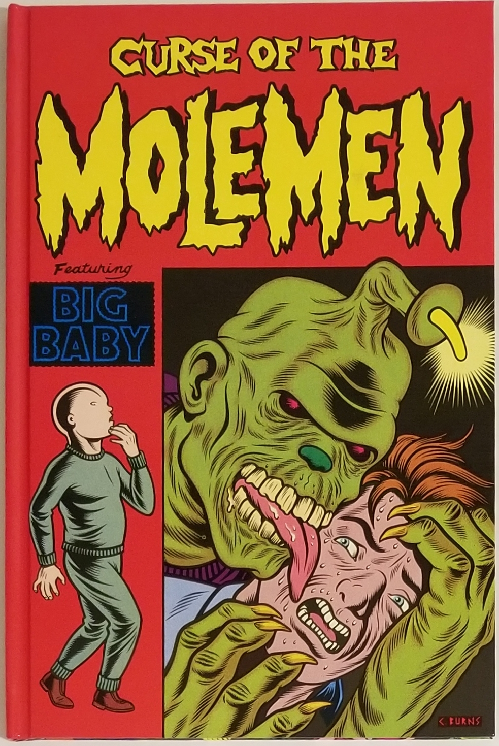 CURSE OF THE MOLEMEN. Charles Burns.
