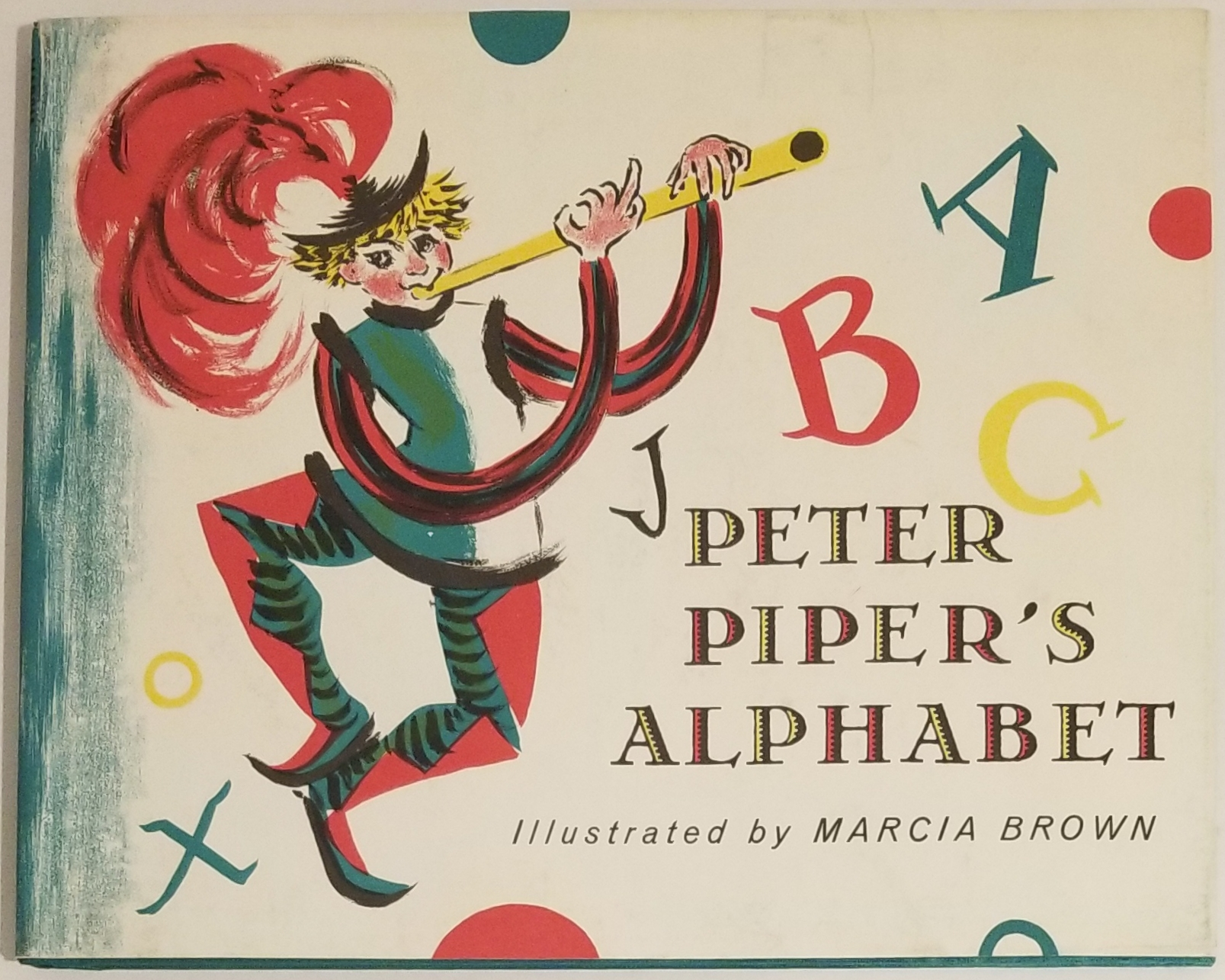 PETER PIPER'S ALPHABET. Marcia Brown.