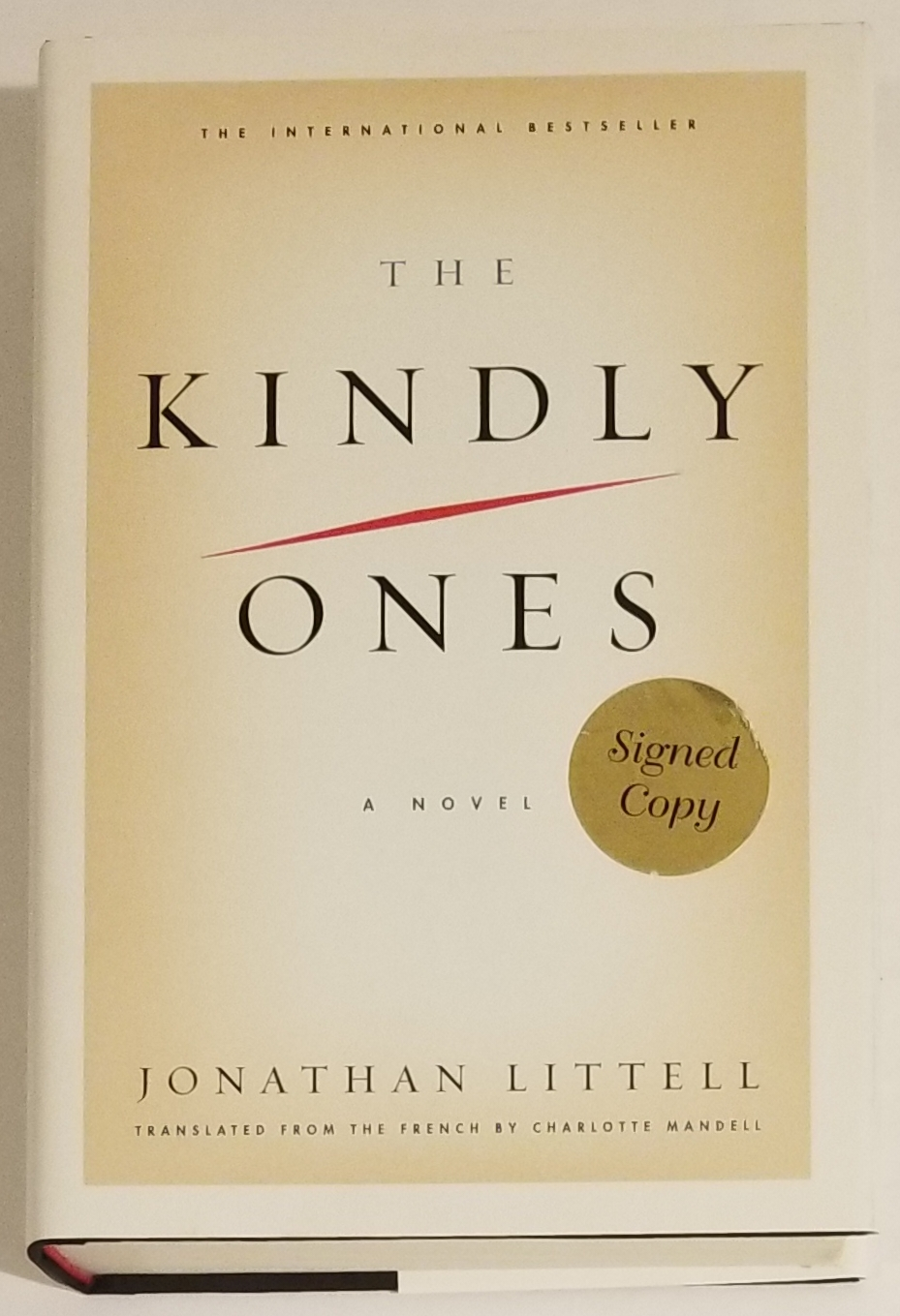 THE KINDLY ONES. Jonathan Littell.