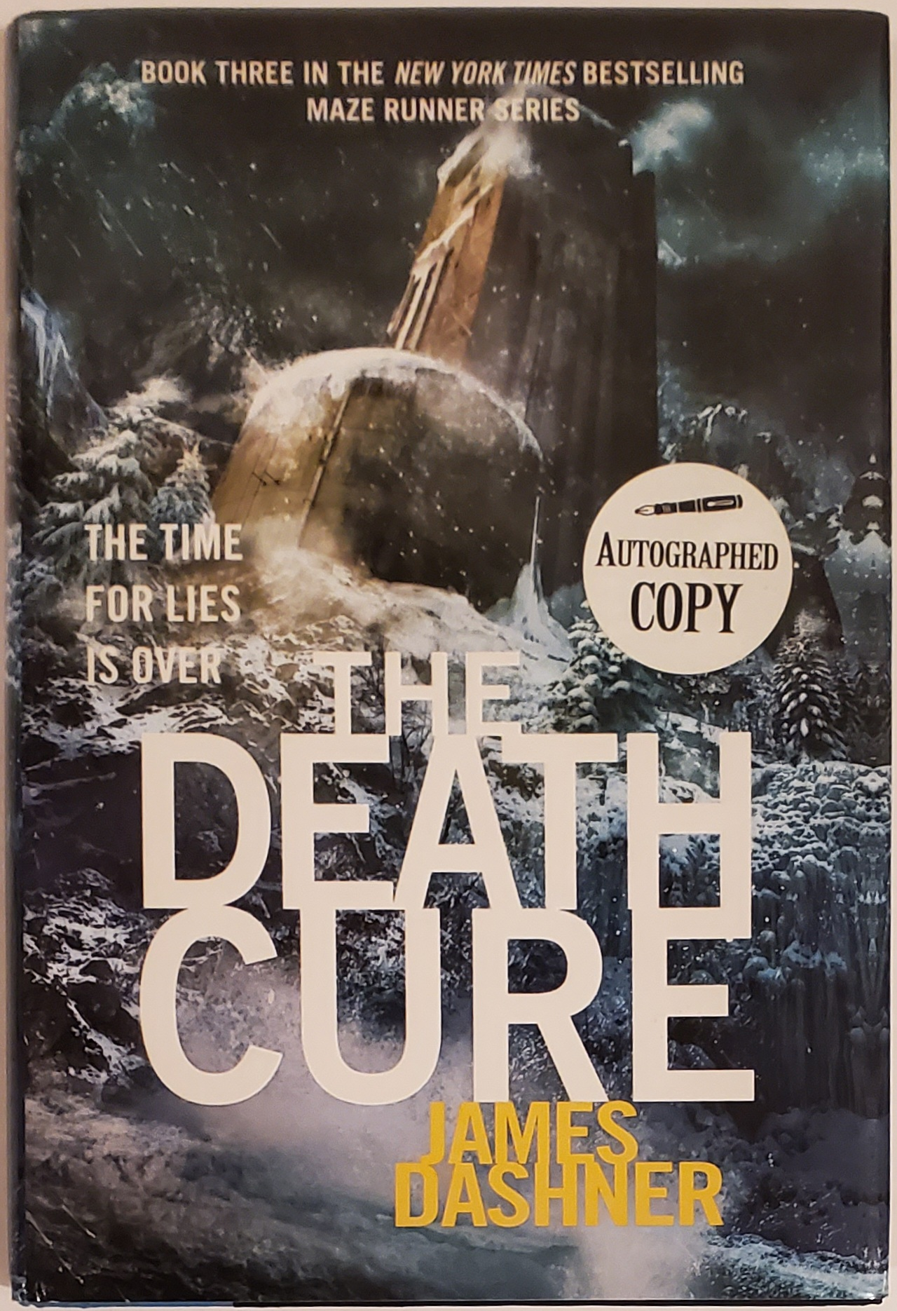 The Death Cure. James Dashner.