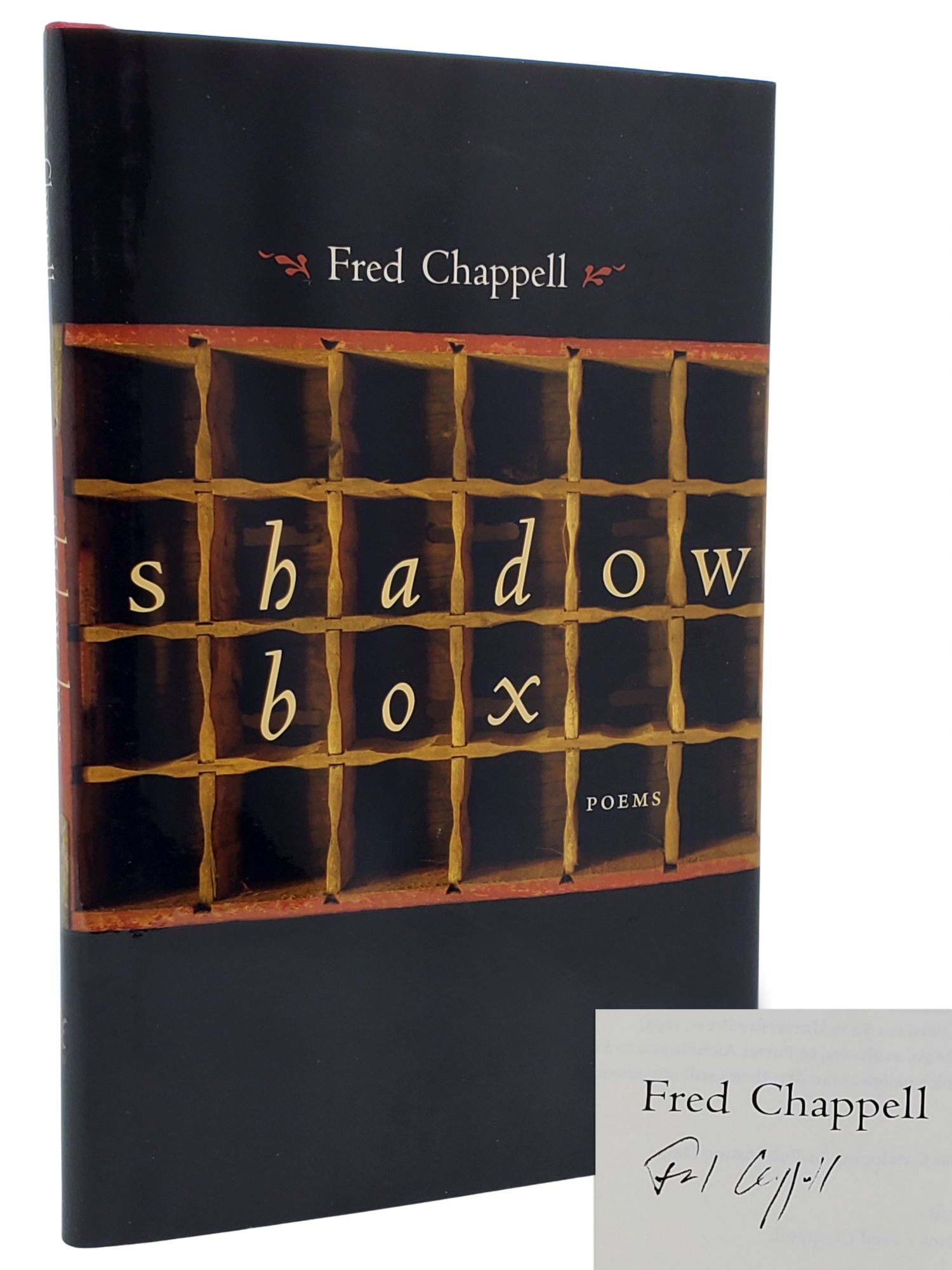 SHADOW BOX. Fred Chappell.