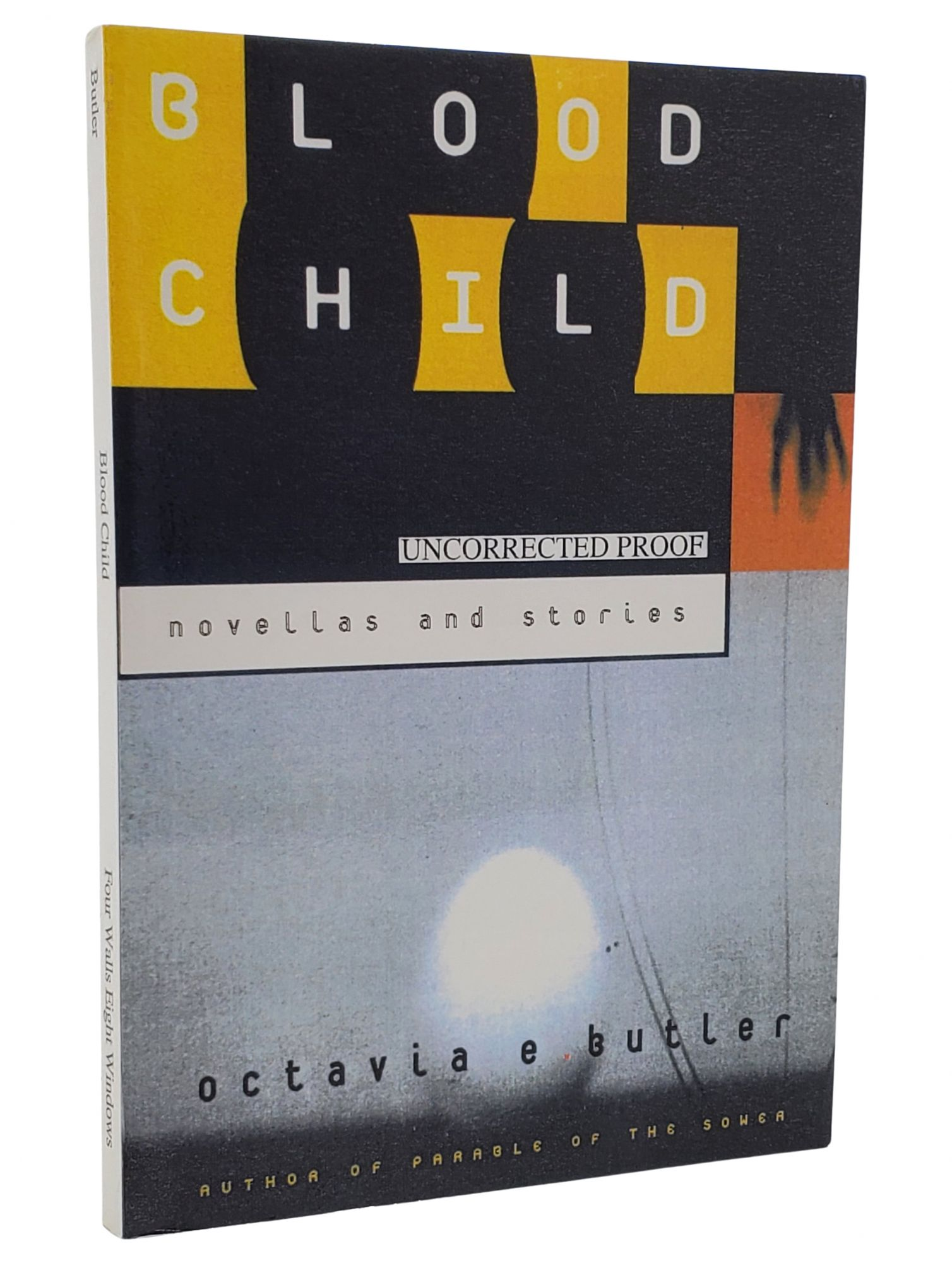 BLOODCHILD AND OTHER STORIES. Octavia E. Butler.