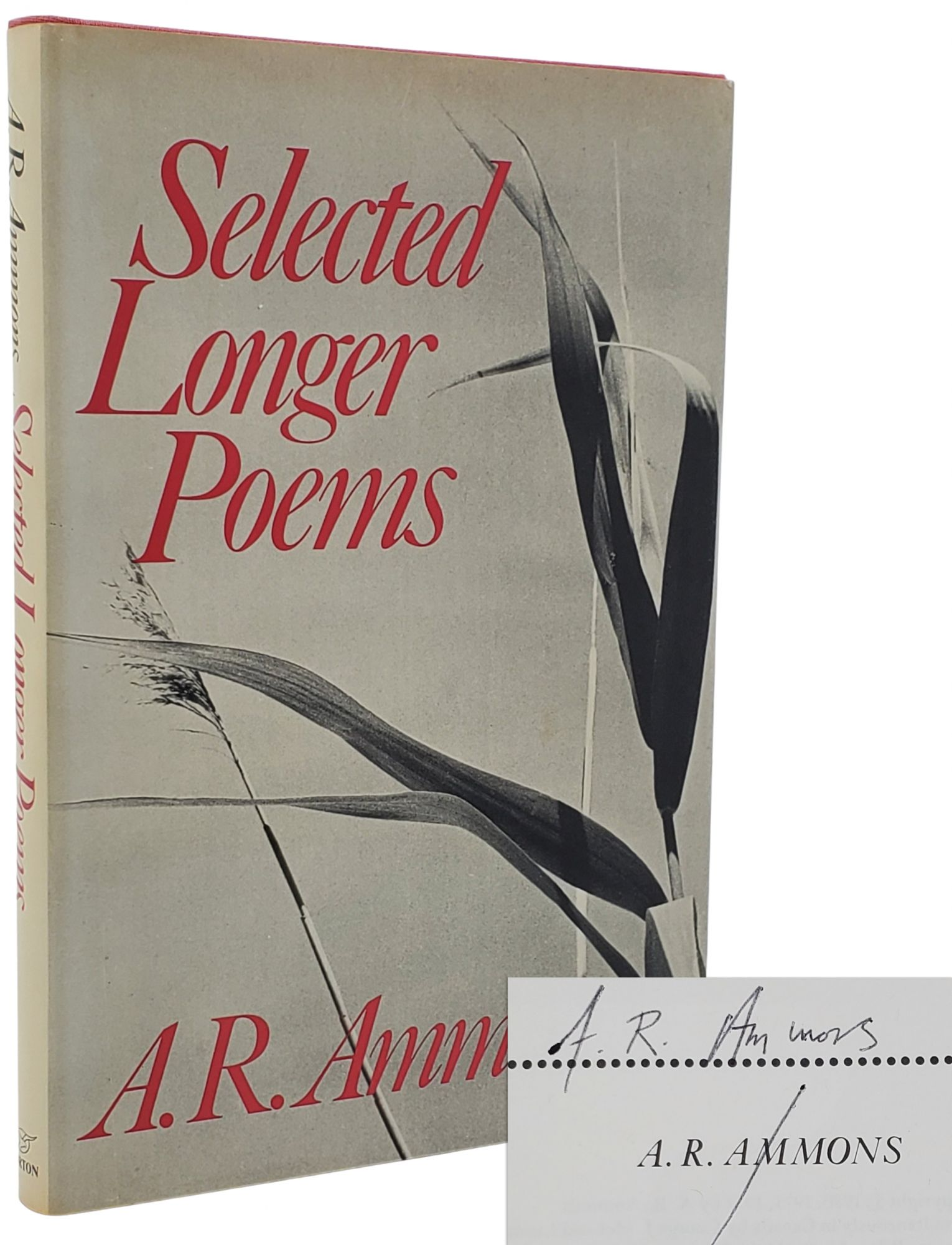 SELECTED LONGER POEMS. A. R. Ammons.
