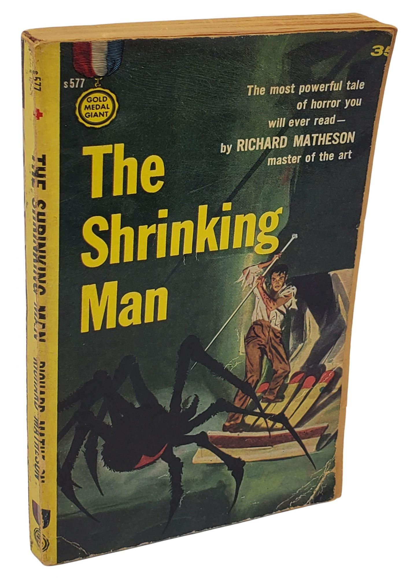 THE SHRINKING MAN. Richard Matheson.