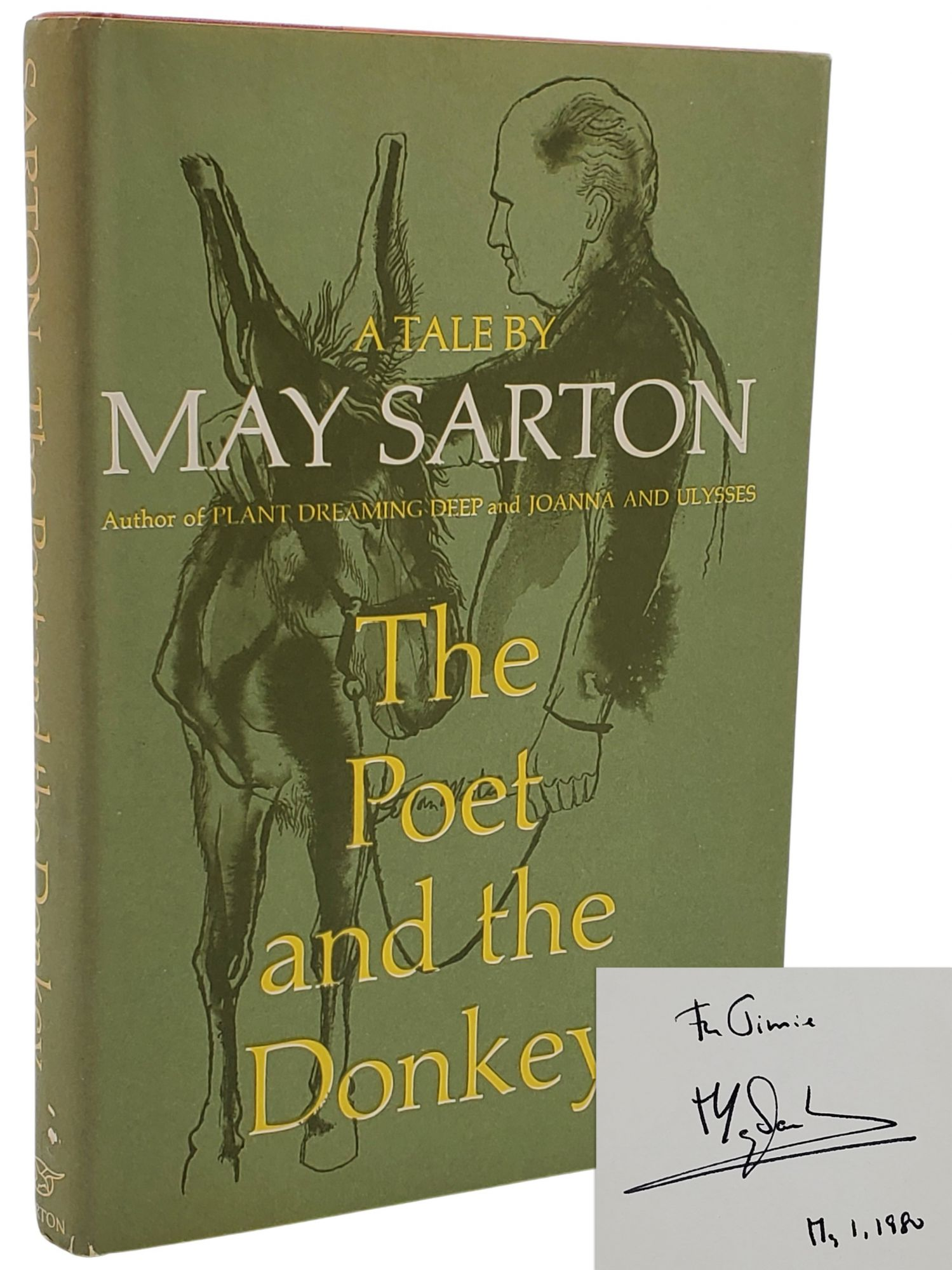 THE POET AND THE DONKEY. May Sarton.