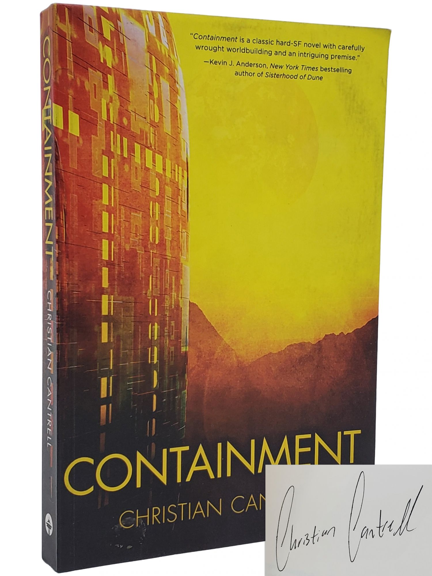 CONTAINMENT (CHILDREN OF OCCAM, BOOK 1). Christian Cantrell.