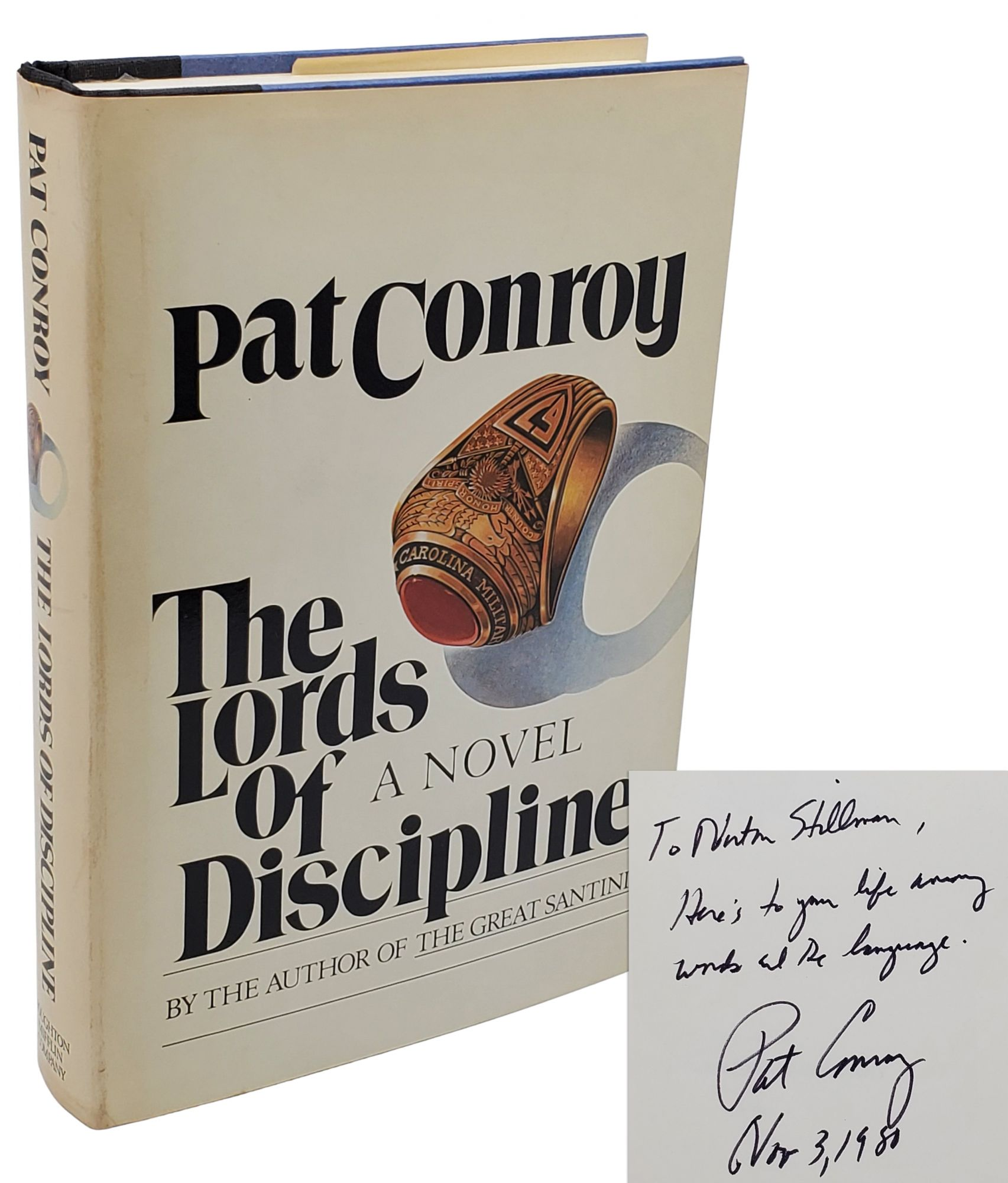 THE LORDS OF DISCIPLINE. Pat Conroy.