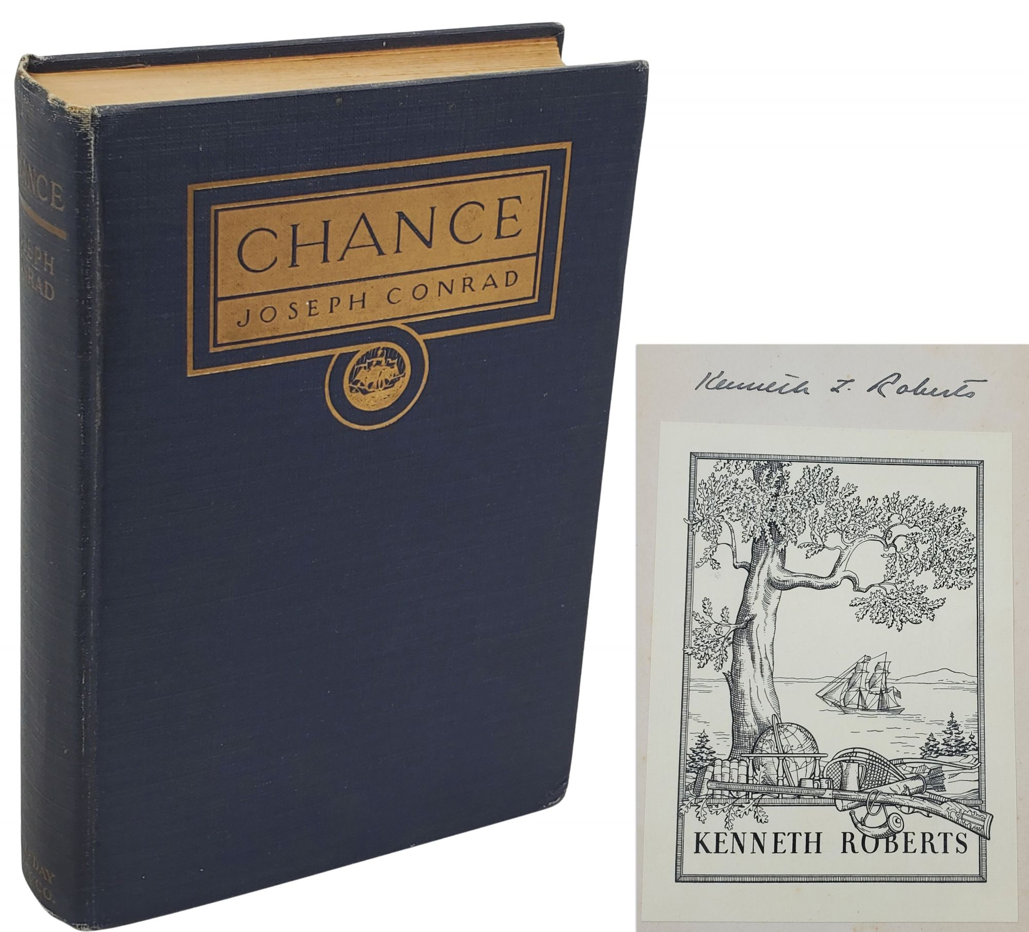 CHANCE: A TALE IN TWO PARTS - THIS COPY OWNED BY KENNETH ROBERTS. Joseph Conrad.