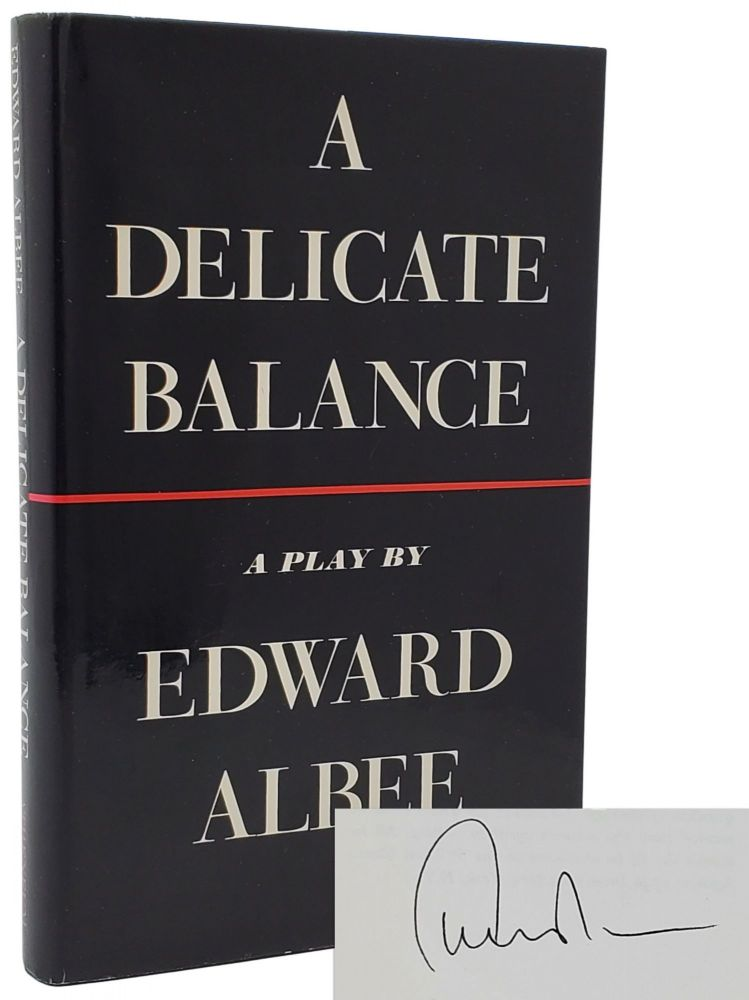 A DELICATE BALANCE [SIGNED]. Edward Albee