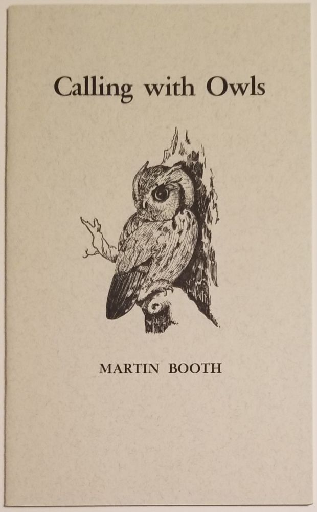 CALLING WITH OWLS. Martin Booth