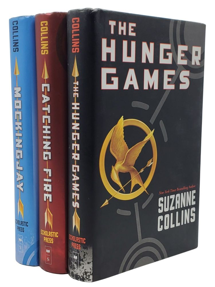 THE HUNGER GAMES TRILOGY: Hunger Games; Catching Firing; Mockingjay. Suzanne Collins