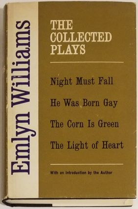 THE COLLECTED PLAYS. Emlyn Wllliams