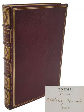 POEMS [INSCRIBED