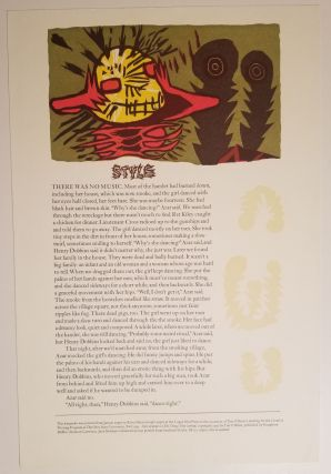 STYLE. Illustration by Jack Shifman. [Overrun Copy, Unsigned]. Tim O'Brien