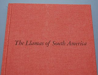 THE LLAMAS OF SOUTH AMERICA. Illustrations by Lorence F. Bjorklund.