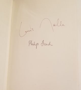 MALLE ON MALLE Edited by Philip French [SIGNED BY BOTH].