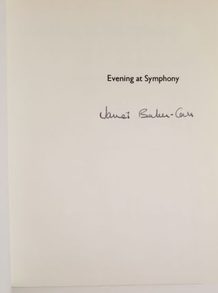 EVENING AT SYMPHONY. A Portrait of the Boston Symphony Orchestra. Illustrated with Photographs.
