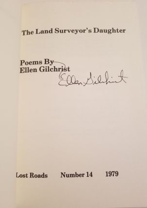 THE LAND SURVEYOR'S DAUGHTER. Poems.