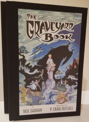 THE GRAVEYARD BOOK: Graphic Novel Single Volume Signed Limited Edition. Neil Gaiman
