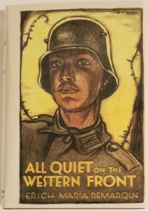 ALL QUIET ON THE WESTERN FRONT (IN FACSIMILE DJ). Erich Maria Remarque.