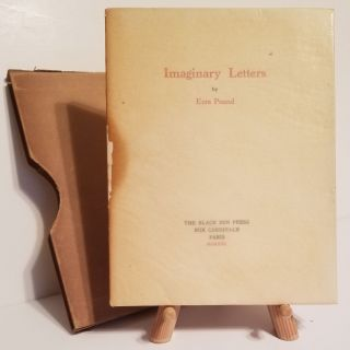 IMAGINARY LETTERS. Ezra Pound