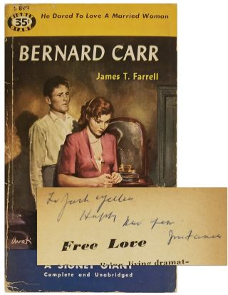 BERNARD CARR [Inscribed Pulp Paperback Original]. James T. Farrell