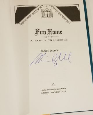 FUN HOME: A TRAGICOMIC.