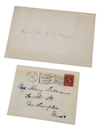 THE MAN WITHOUT A COUNTRY [BIRTHDAY EDITION - ONE OF 80 SIGNED + AUTOGRAPHED LETTER SIGNED + BIRTHDAY INVITE].