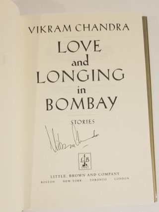 LOVE AND LONGING IN BOMBAY.