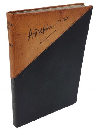 ADOLPHE 1920 [ONE OF 50 LIMITED SIGNED]