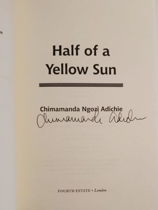 HALF OF A YELLOW SUN.