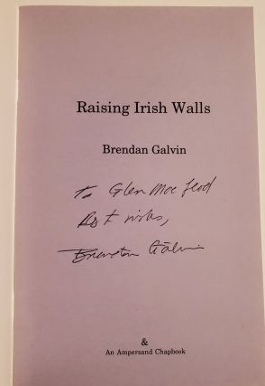 RAISING IRISH WALLS.