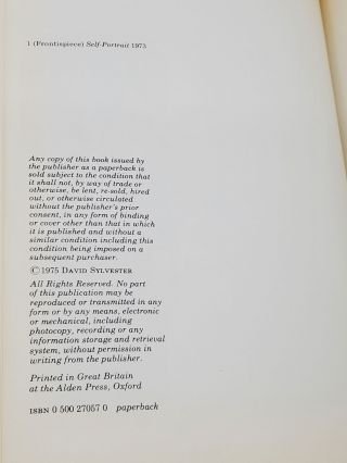 INTERVIEWS WITH FRANCIS BACON [SIGNED & INSCRIBED] With 94 Illustrations.