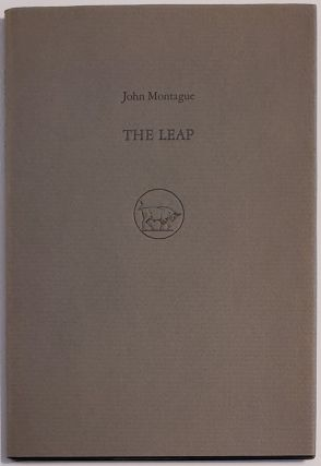 THE LEAP. Two Poems. Illustrations by Timothy Engellan. John Montague