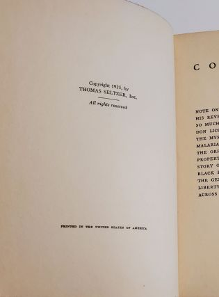 LITTLE NOVELS OF ITALY by Giovanni Verga. Translated from the Italian by D.H. Lawrence.