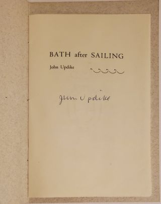 BATH AFTER SAILING.