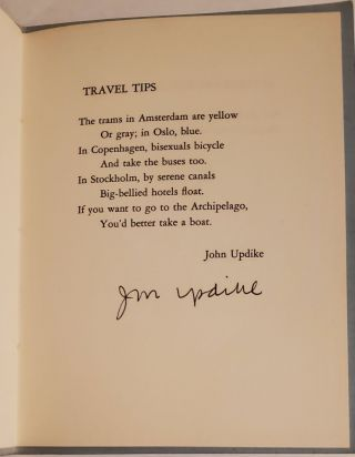 'Travel Tips' in BITS 8.