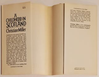 A CHILDHOOD IN SCOTLAND. Illustrated by Ray Evans.