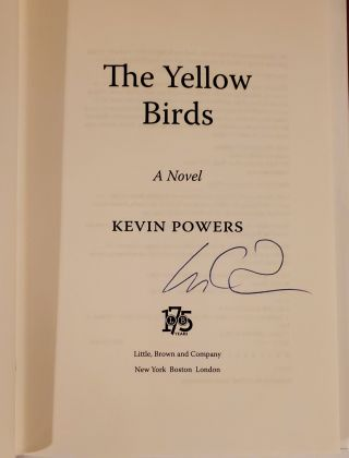 THE YELLOW BIRDS.