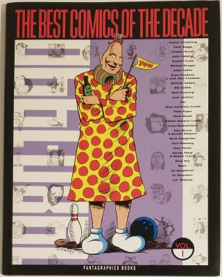 THE BEST COMICS OF THE DECADE 1980-1990 VOLUME I. Bill Griffith, Matt Groening