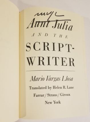AUNT JULIA AND THE SCRIPTWRITER.