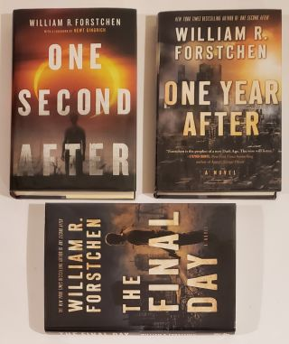 The John Matherson Series: (One Second After, One Year After, The Final Day) - Signed Boxed Edition.
