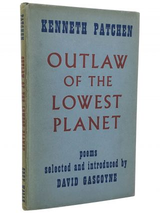 OUTLAW OF THE LOWEST PLANET [SIGNED ASSOCIATION COPY]