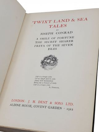 TWIXT LAND AND SEA TALES.